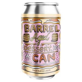 Barrel Aged Dessert In A Can - Rocky Road Ice Cream - Amundsen Bryggeri