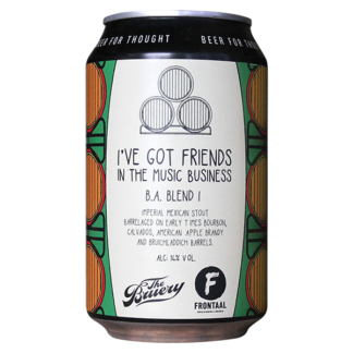 I've Got Friends In the Music Business BA Blend I - Brouwerij Frontaal