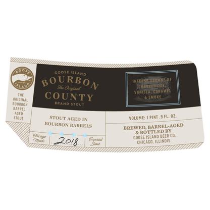 Bourbon County Brand Stout 2018 - Goose Island