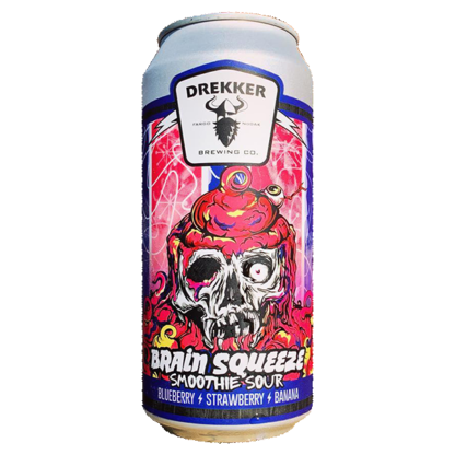 Brain Squeeze - Strawberry/Blueberry/Banana - Drekker Brewing Co.
