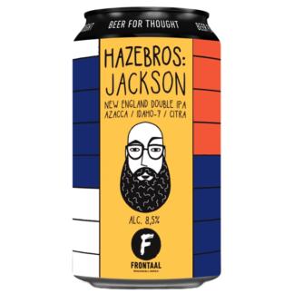 Hazebros: Jackson - Brouwerij Frontaal