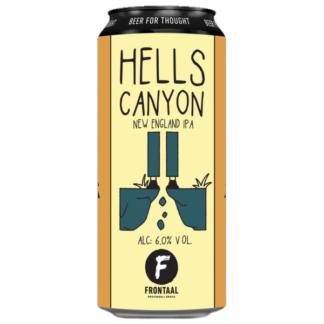 Hells Canyon - Brouwerij Frontaal