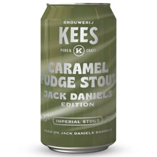 Caramel Fudge Stout Jack Daniels Edition - Brouwerij Kees
