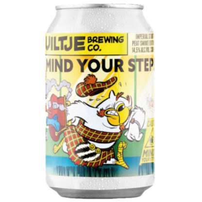 Mind Your Step! Peat Smoke Edition - Brouwerij 't Uiltje