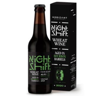 Night Shift Vintage 2020 Wheat Wine Aged in Bourbon Barrels - Horizont