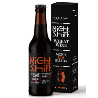 Night Shift Vintage 2020 Wheat Wine Aged in Rum Barrels - Horizont