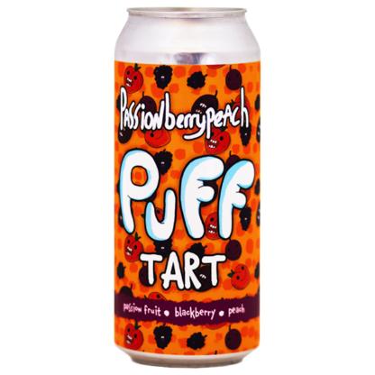 Passionberry Peach Puff Tart - The Brewing Projekt
