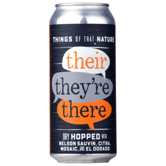 Things of That Nature: Their, They're, There - The Brewing Projekt