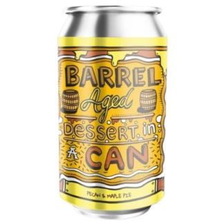 Barrel Aged Dessert In A Can - Pecan And Maple Pie - Amundsen Bryggeri