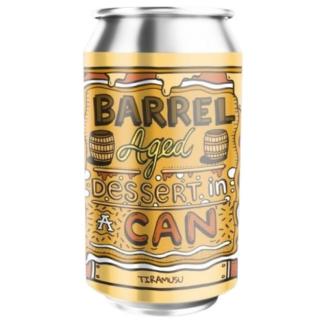 Barrel Aged Dessert In A Can - Tiramisu - Amundsen Bryggeri
