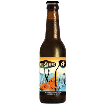 Maple Marshmallow Bourbon BA Stout - VandeStreek Bier