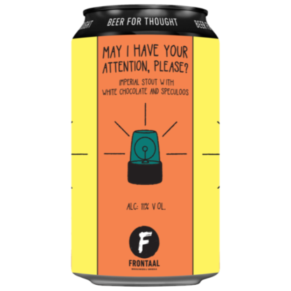 May I Have Your Attention, Please? - Brouwerij Frontaal