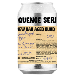 Sequence Series #010 - New Oak Aged Quad - Brouwerij 't Uiltje