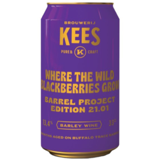 Barrel Project 21.01 - Where the Wild Blackberries Grow - Brouwerij Kees