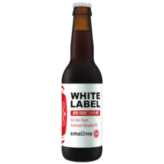 White Label Red Hot Tripel Bordeaux Margaux BA 2020 Brouwerij Emelisse