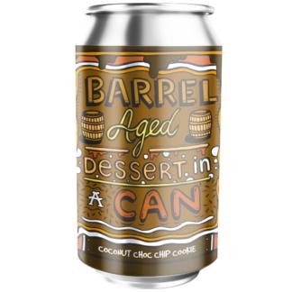Barrel Aged Dessert In A Can - Coconut Choc Chip Cookie - Amundsen Bryggeri