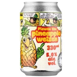 Piewee the Pineapple Weizen - Brouwerij 't Uiltje