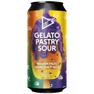 Gelato: Passion Fruit, Mango & Peach - Funky Fluid