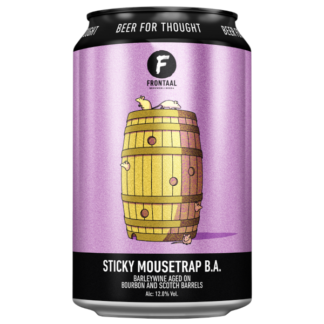 Sticky Mousetrap B.A. - Brouwerij Frontaal
