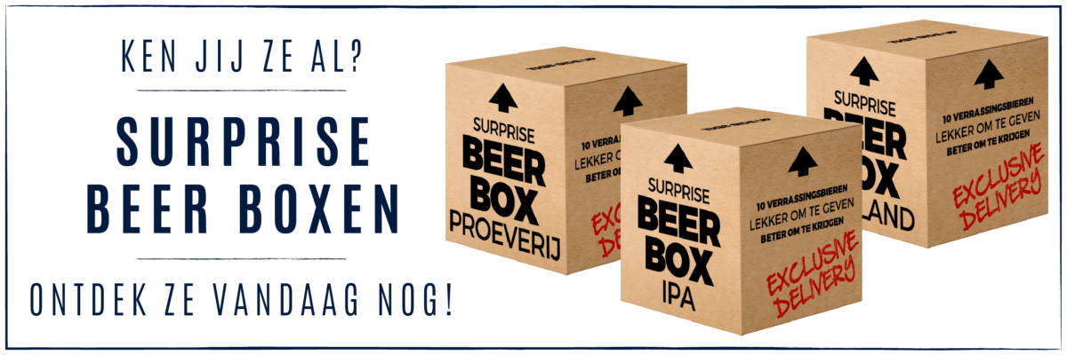 Surprise Beer Boxen - Kai Exclusive Beers