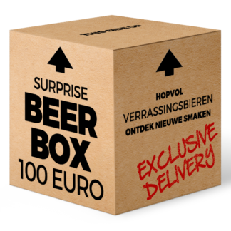 Surprise Beer Box 100 euro