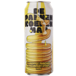 De Pannenkoekenman - Banoffee Pancake Breakfast Stout - Brouwerij De Man