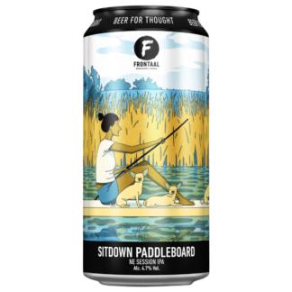 Sitdown Paddleboard - Brouwerij Frontaal