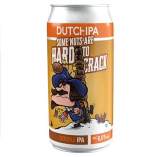 Dutch IPA - HARD to CRACK - Brouwerij Dockum