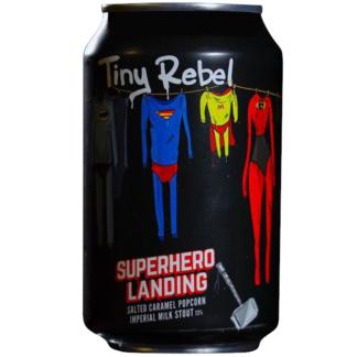 Super Hero Landing - Tiny Rebel & BrewDog